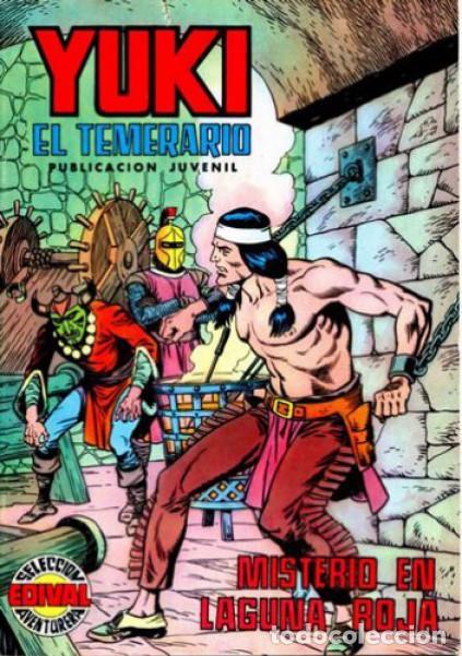 YUKI EL TEMERARIO-SELECCIÓN AVENTURERA- Nº 13 -MISTERIO EN LAGUNA ROJA-1976-GRAN F.AMORÓS-BUENO-2981 (Tebeos y Comics - Valenciana - Selección Aventurera)