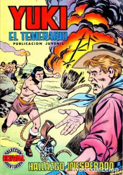 YUKI EL TEMERARIO-SELECCIÓN AVENTURERA- Nº 20 -HALLAZGO INESPERADO-1977-GRAN F.AMORÓS-CORRECTO-2983 (Tebeos y Comics - Valenciana - Selección Aventurera)