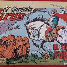 BDs: EL SARGENTO VIRUS Nº 2 EL HIJO DEL FUEGO VALENCIANA ORIGINAL , CT2. Lote 192072830