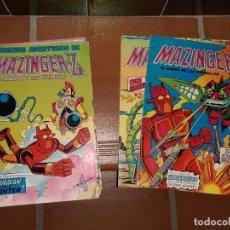 Tebeos: LOTE DE 8 COMICS MAZINGER Z EL ROBOT DE LAS ESTRELLAS.. Lote 192141095