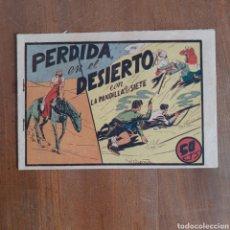 Tebeos: PERDIDA EN EL DESIERTO CON LA PANDILLA DE LOS SIETE / NUM. 41 EDITORIAL VALENCIANA. Lote 192378571