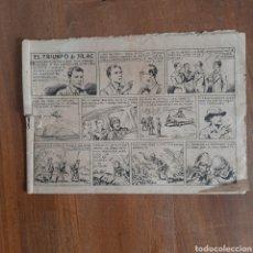 Tebeos: EL TRIUNFO DE SILAC / LA VALENCIANA AÑO 1945. Lote 192379190