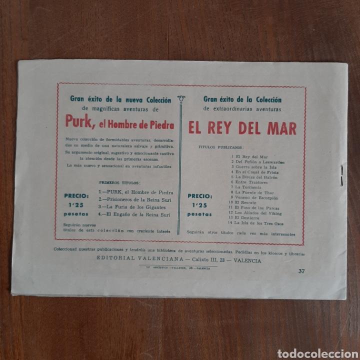 Tebeos: Rivales con El Rey del Mar / Bermejo / Valenciana num. 37 Año 1948 - Foto 2 - 192491052