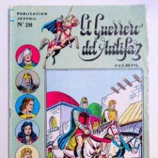 Tebeos: EL GUERRERO DEL ANTIFAZ PUBLICACIÖN JUVENIL Nº 28. Lote 192869055