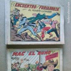 Tebeos: EL PEQUEÑO LUCHADOR 1ª -ORIGINAL - LOTE DE 48 Nº VALENCIANA. Lote 192982496