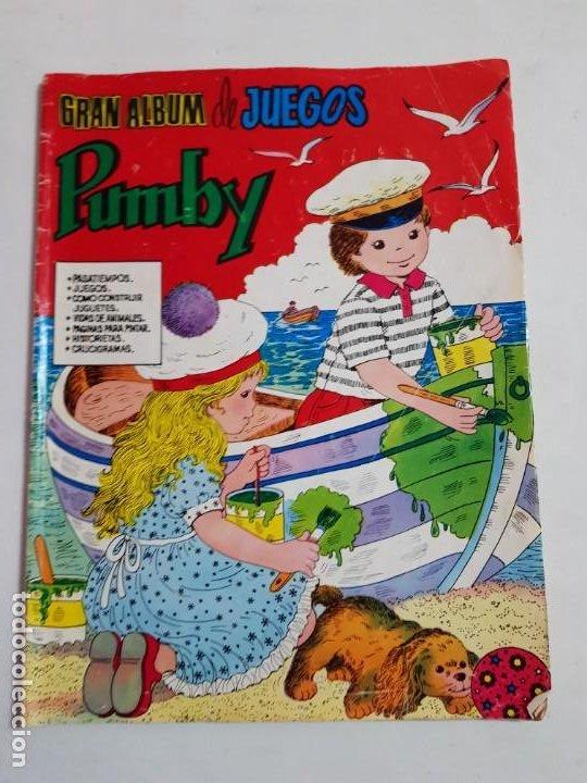 GRAN ALBUM DE JUEGOS PUMBY ESTADO NORMAL MAS ARTICULOS (Tebeos y Comics - Valenciana - Pumby)