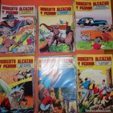 Tebeos: ROBERTO ALCAZAR Y PEDRIN. COMPLETA .283 NUMEROS. EDITORIAL VALENCIANA. 1976.. Lote 193071070