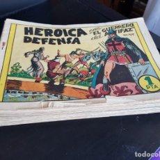Tebeos: GRAN LOTE 42 TEBEOS/ CÓMIC ORIGINALES EL GUERRERO DEL ANTIFAZ N 7 A 157 AÑOS 40. Lote 193302902