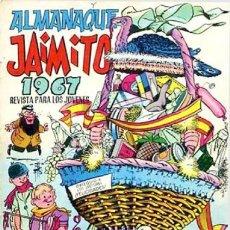 Tebeos: JAIMITO -ALMANAQUE PARA 1967- NIN-KARPA-SANCHIS-PALOP-CERDÁN-1966-BUENO-ESCASO-LEAN-3048. Lote 193333642