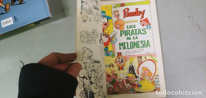 Tebeos: Libros ilustrados Pumby nº 14 los piratas de la Melonesia Valenciana - Foto 3 - 193424847
