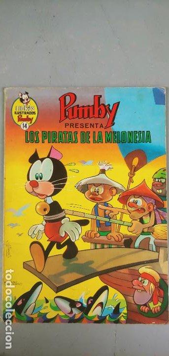 LIBROS ILUSTRADOS PUMBY Nº 14 LOS PIRATAS DE LA MELONESIA VALENCIANA (Tebeos y Comics - Valenciana - Pumby)