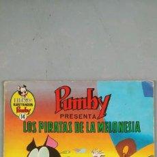 Tebeos: LIBROS ILUSTRADOS PUMBY Nº 14 LOS PIRATAS DE LA MELONESIA VALENCIANA. Lote 193424847