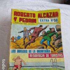 Tebeos: LOTE DE 34 NUMEROS DE ROBERTO ALCAZAR Y PEDRIN. Lote 193449870