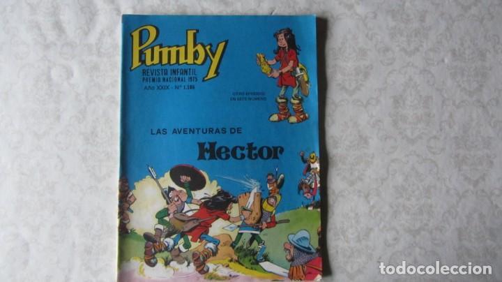 LOTE DE 6 NUMEROS DEL TEBEO INFANTIL PUMBY (Tebeos y Comics - Valenciana - Pumby)