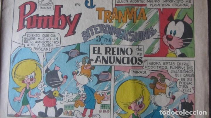 Tebeos: LOTE DE 6 NUMEROS DEL TEBEO INFANTIL PUMBY - Foto 6 - 193661027