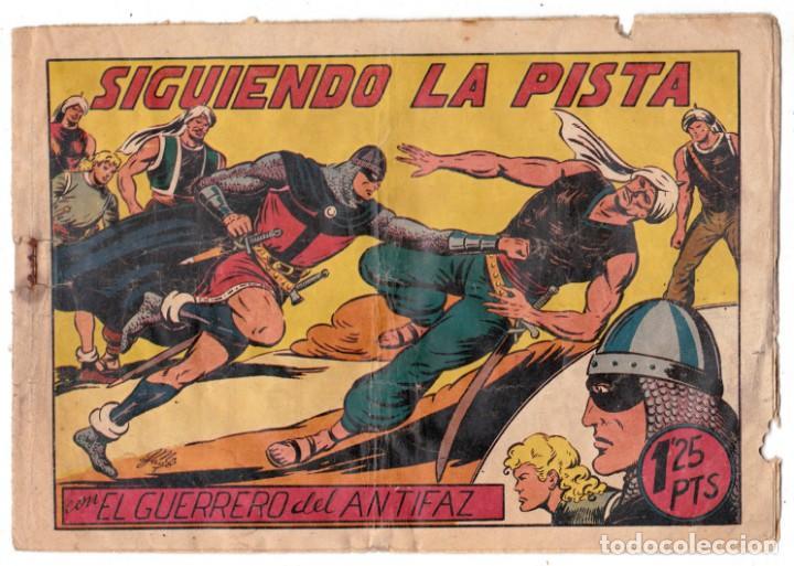 EL GUERRERO DEL ANTIFAZ ORIGINAL Nº 98 SIGUIENDO LA PISTA (Tebeos y Comics - Valenciana - Guerrero del Antifaz)
