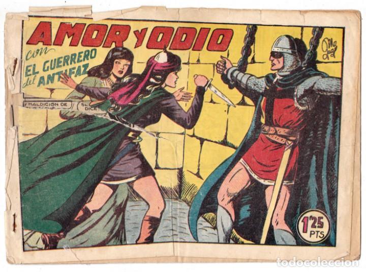 EL GUERRERO DEL ANTIFAZ ORIGINAL Nº 141 AMOR Y ODIO (Tebeos y Comics - Valenciana - Guerrero del Antifaz)