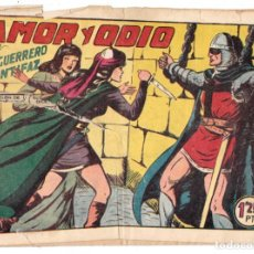 Tebeos: EL GUERRERO DEL ANTIFAZ ORIGINAL Nº 141 AMOR Y ODIO. Lote 193667823