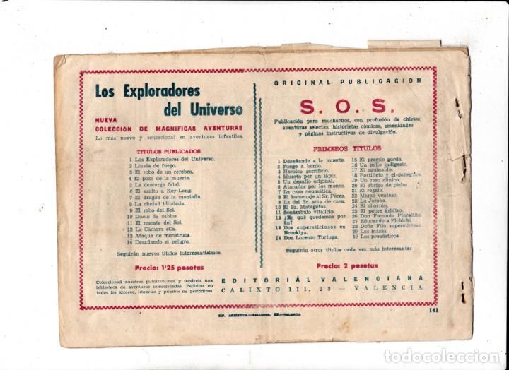 Tebeos: EL GUERRERO DEL ANTIFAZ ORIGINAL nº 141 amor y odio - Foto 2 - 193667823
