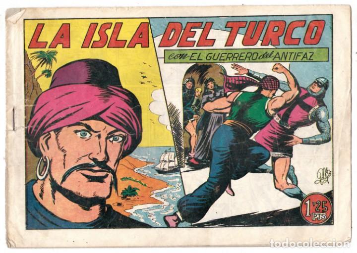 EL GUERRERO DEL ANTIFAZ ORIGINAL Nº 122 (Tebeos y Comics - Valenciana - Guerrero del Antifaz)