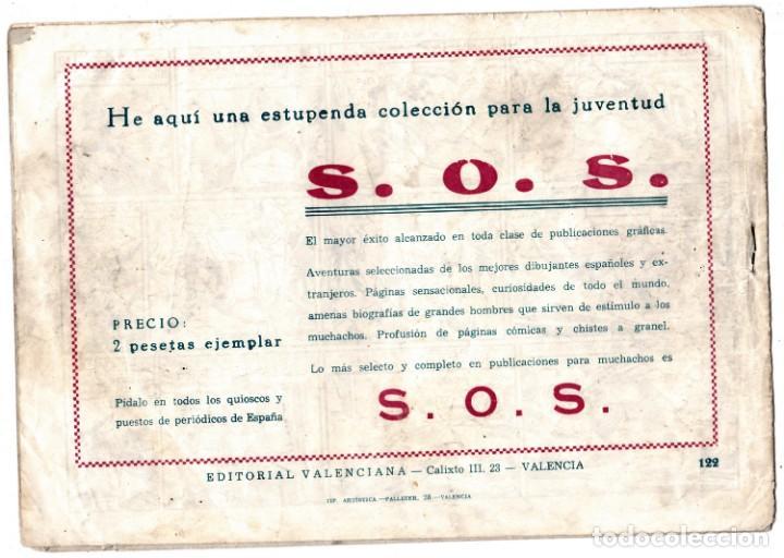 Tebeos: EL GUERRERO DEL ANTIFAZ ORIGINAL nº 122 - Foto 2 - 193667966