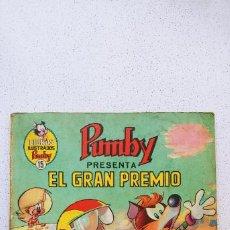 Tebeos: LIBROS ILUSTRADOS PUMBY Nº 15 EL GRAN PREMIO VALENCIANA. Lote 193757371