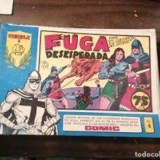 Tebeos: EL GUERRERO DEL ANTIFAZ 4 - HOMENAJE A MANUEL GAGO - VALENCIANA 1982. Lote 193785100