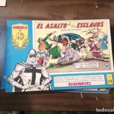 Tebeos: EL GUERRERO DEL ANTIFAZ 53 - HOMENAJE A MANUEL GAGO - VALENCIANA 1982. Lote 193785291