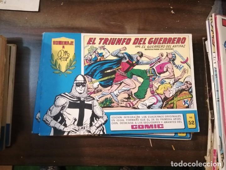 EL GUERRERO DEL ANTIFAZ 52 - HOMENAJE A MANUEL GAGO - VALENCIANA 1982 (Tebeos y Comics - Valenciana - Guerrero del Antifaz)