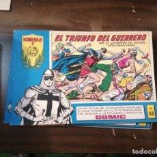 Tebeos: EL GUERRERO DEL ANTIFAZ 52 - HOMENAJE A MANUEL GAGO - VALENCIANA 1982. Lote 193785335