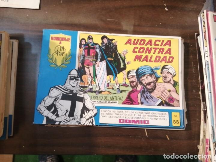 EL GUERRERO DEL ANTIFAZ 55 - HOMENAJE A MANUEL GAGO - VALENCIANA 1982 (Tebeos y Comics - Valenciana - Guerrero del Antifaz)