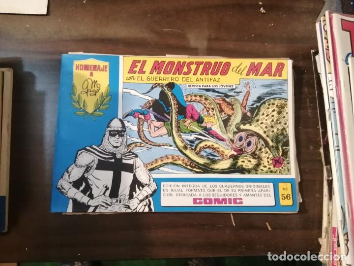 EL GUERRERO DEL ANTIFAZ 56 - HOMENAJE A MANUEL GAGO - VALENCIANA 1982 (Tebeos y Comics - Valenciana - Guerrero del Antifaz)