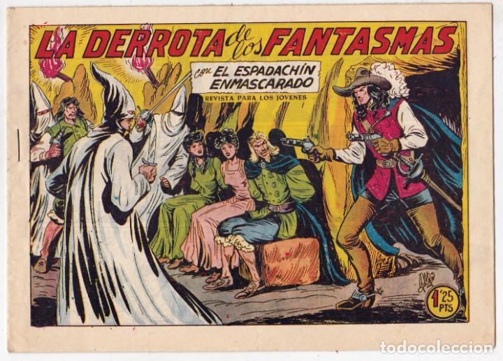 EL ESPADACHÍN ENMASCARADO Nº 219, EDITORIAL VALENCIANA (Tebeos y Comics - Valenciana - Espadachín Enmascarado)
