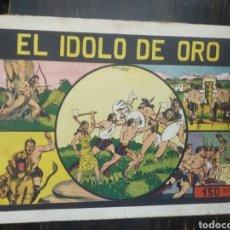 Tebeos: NIÑO GONZALO Nº 10 EL IDOLO DE ORO. EDITORIAL VALENCIANA ORIGINAL. VALENCIA, 1943. Lote 193799563