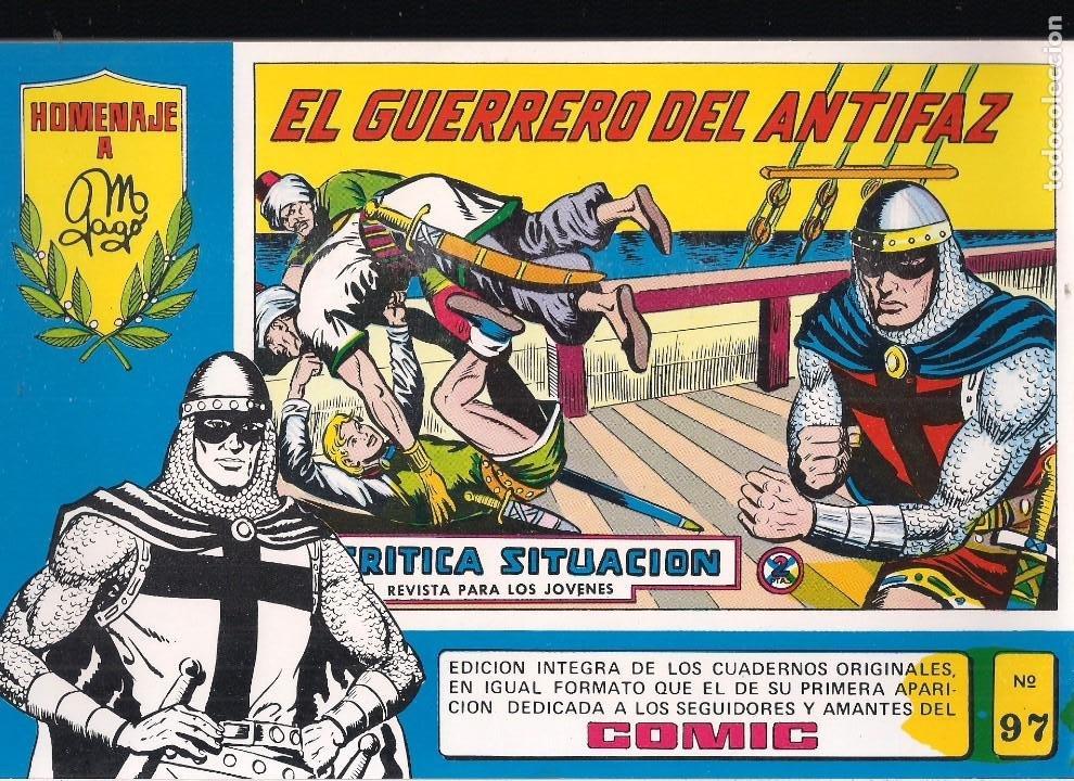 EL GUERRERO DEL ANTIFAZ Nº 87. SERIE AZUL HOMENAJE A MANUEL GAGO (Tebeos y Comics - Valenciana - Guerrero del Antifaz)