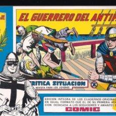 Tebeos: EL GUERRERO DEL ANTIFAZ Nº 87. SERIE AZUL HOMENAJE A MANUEL GAGO. Lote 193815151