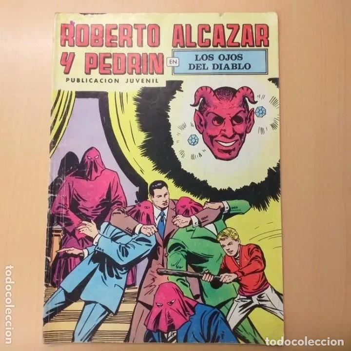 ROBERTO ALCAZAR Y PEDRIN - LOS OJOS DEL DIABLO. VALENCIANA. NUM 29 (Tebeos y Comics - Valenciana - Roberto Alcázar y Pedrín)