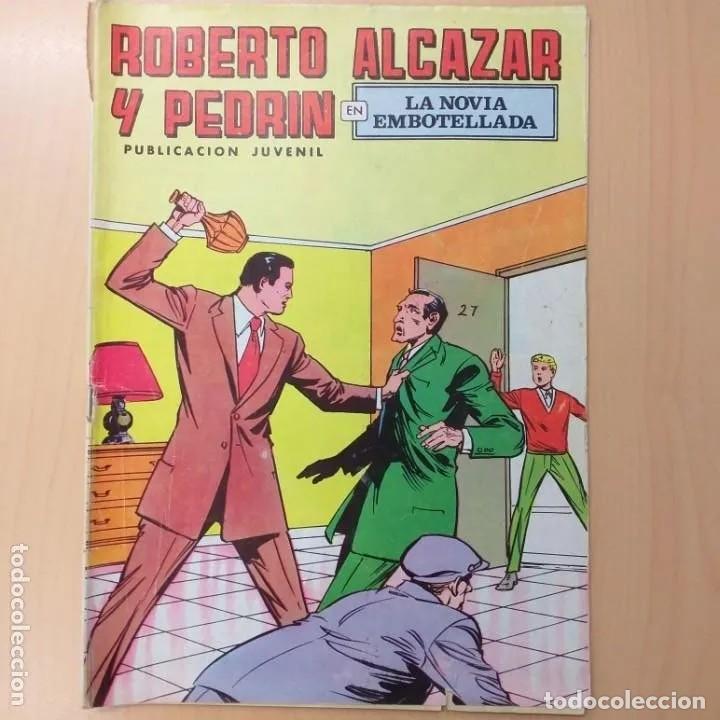 ROBERTO ALCAZAR Y PEDRIN - LA NOVIA EMBOTELLADA. VALENCIANA. NUM 52 (Tebeos y Comics - Valenciana - Roberto Alcázar y Pedrín)