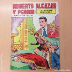 Tebeos: ROBERTO ALCAZAR Y PEDRIN - LA MUERTE INVISIBLE. VALENCIANA. NUM 17. Lote 193940476
