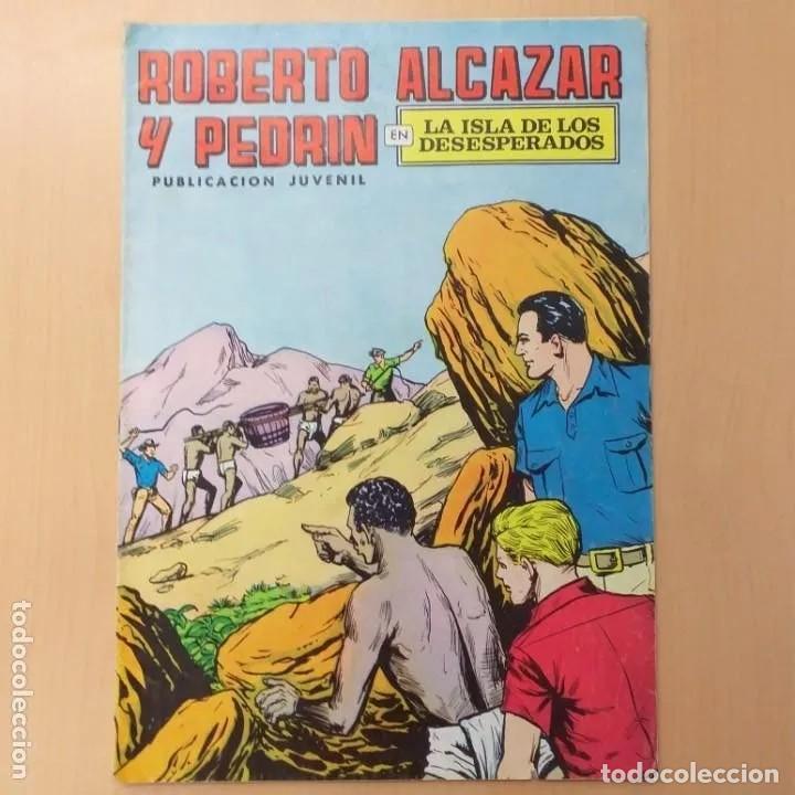 ROBERTO ALCAZAR Y PEDRIN - LA ISLA DE LOS DESESPERADOS. VALENCIANA. NUM 64 (Tebeos y Comics - Valenciana - Roberto Alcázar y Pedrín)