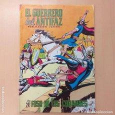 Tebeos: EL GUERRERO DEL ANTIFAZ - EL FOSO DE LOS COBARDES. VALENCIANA. NUM 285. Lote 193940730
