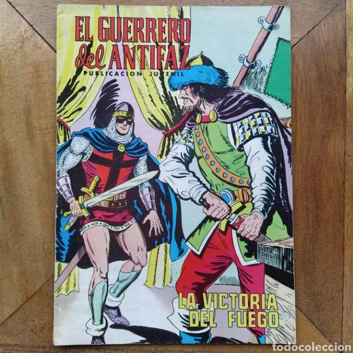 EL GUERRERO DEL ANTIFAZ 190 LA VICTORIA DEL FUEGO VALENCIA (Tebeos y Comics - Valenciana - Guerrero del Antifaz)