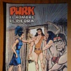 Tebeos: TEBEO - COMIC - PURK EL HOMBRE DE PIEDRA - LOS HIJOS DEL SOL - Nº 46 - EDICIÓN EDIVAL. Lote 193976618