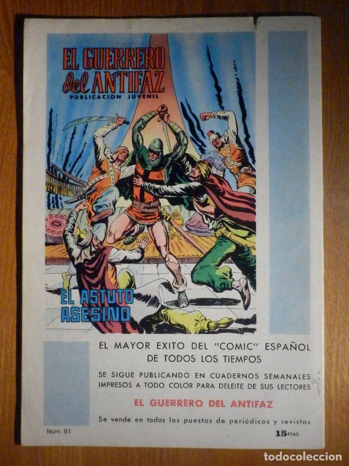 Tebeos: Tebeo - Comic - Purk El hombre de Piedra - La captura de Purk - Nº 81 - Edición Edival - Foto 2 - 193976671