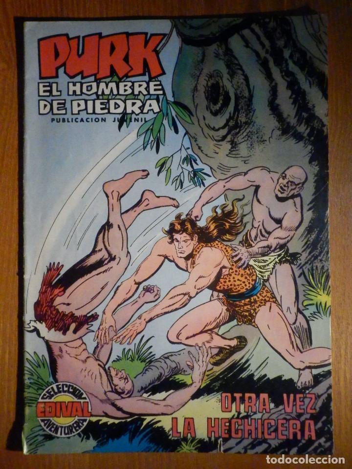 TEBEO - COMIC - PURK EL HOMBRE DE PIEDRA - OTRA VEZ LA HECHICERA - Nº 74 - EDICIÓN EDIVAL (Tebeos y Comics - Valenciana - Purk, el Hombre de Piedra)