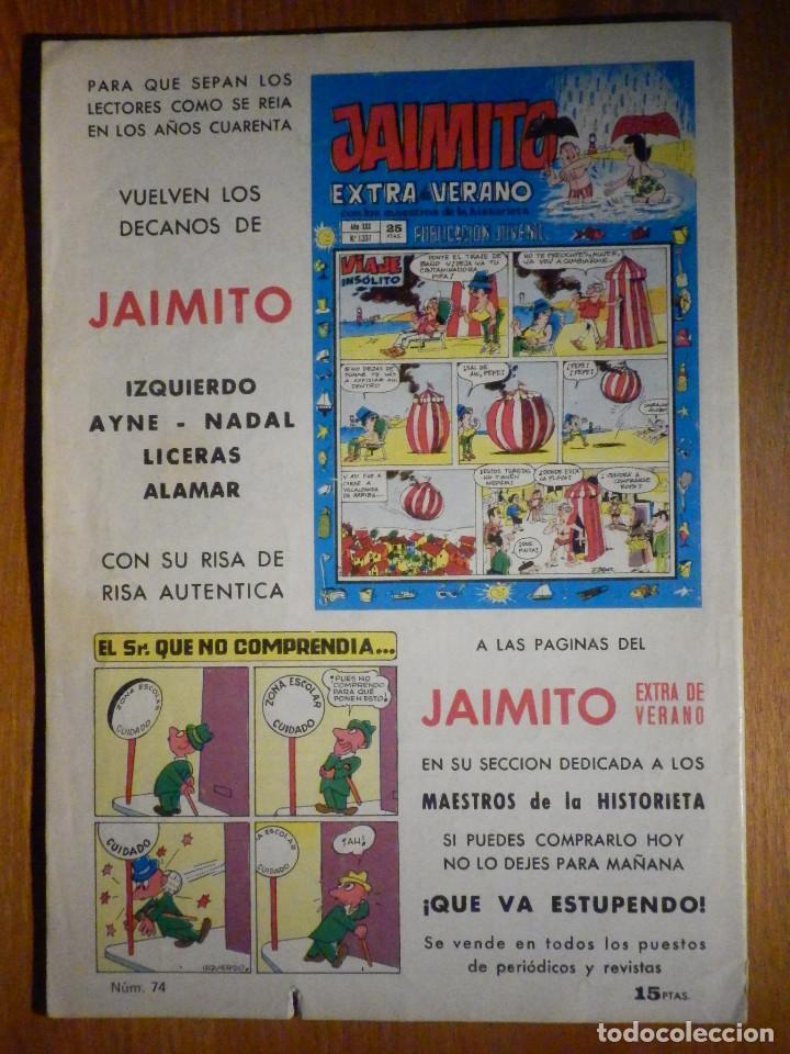 Tebeos: Tebeo - Comic - Purk El hombre de Piedra - Otra vez la Hechicera - Nº 74 - Edición Edival - Foto 2 - 193976757