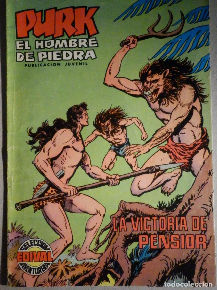 TEBEO - COMIC - PURK EL HOMBRE DE PIEDRA - LA VICTORIOSA DE PENSIOR - Nº 27 - EDICIÓN EDIVAL (Tebeos y Comics - Valenciana - Purk, el Hombre de Piedra)