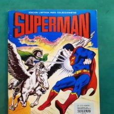Tebeos: SUPERMAN GRAN FORMATO 25X34 ED. VALENCIANA 1978 EXCELENTE ESTADO VER FOTOS. Lote 194059383