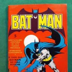 Tebeos: BATMAN - EDITORIAL VALENCIANA - 1976 - FORMATO GIGANTE-EXCELENTE ESTADO-VER FOTOS. Lote 194059611