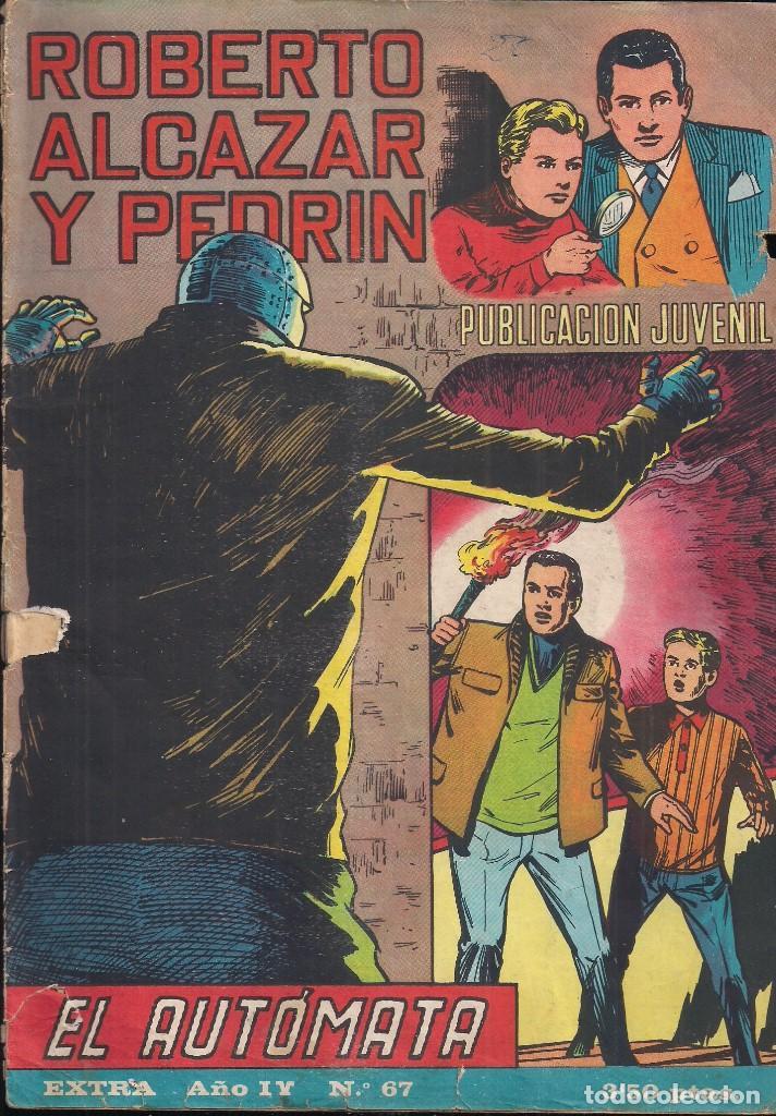 ROBERTO ALCAZAR Y PEDRIN EXTRA Nº 67 EL AUTOMATA (Tebeos y Comics - Valenciana - Roberto Alcázar y Pedrín)
